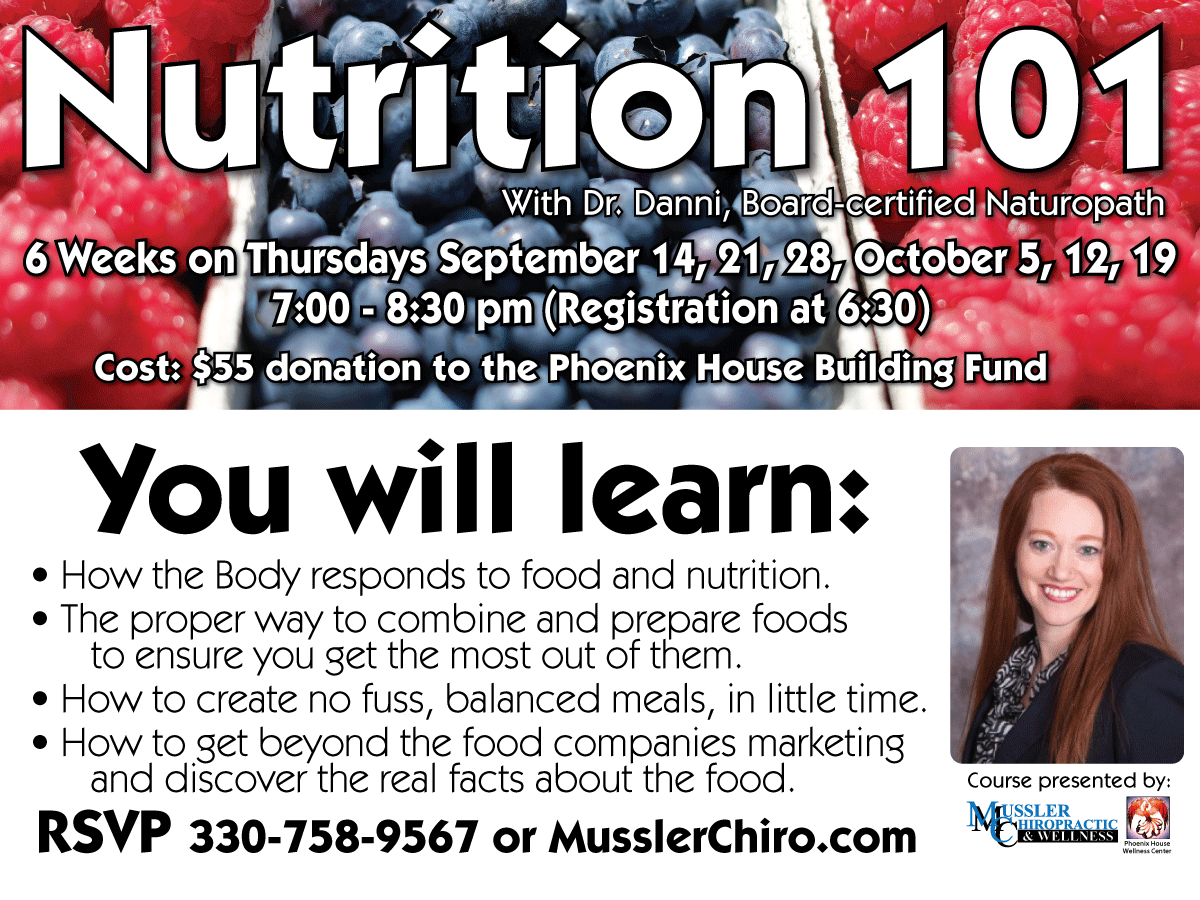 Register here for Nutrition 101