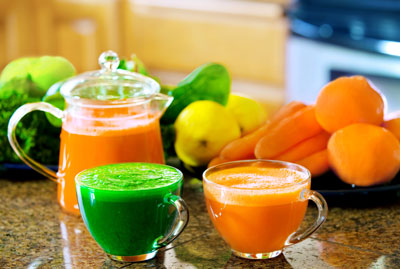 Juicing for good health